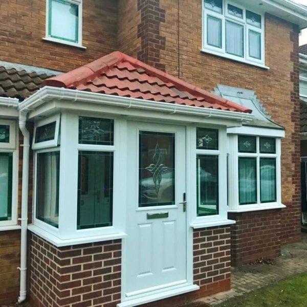 Windowed Porch Install Croxteth