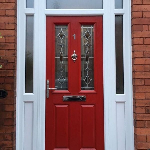 PVC Front Door with Detail