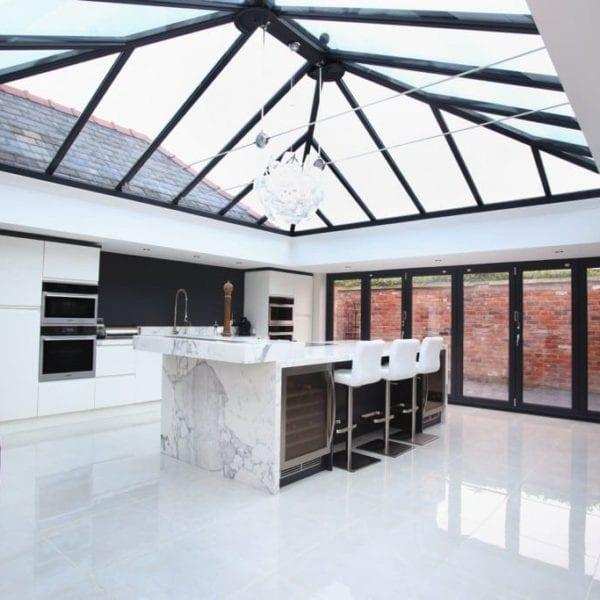Bright Luxury Orangery Extension