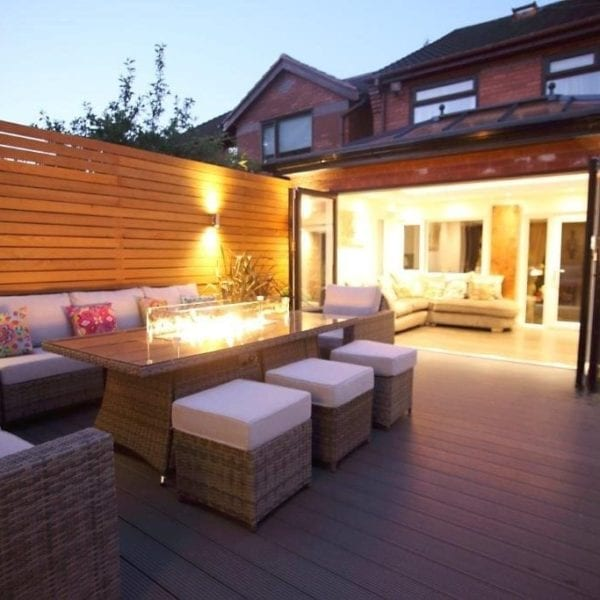 Decking Area and Orangery