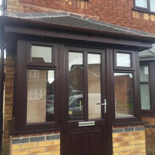 Front Porch Extension in Wavertree