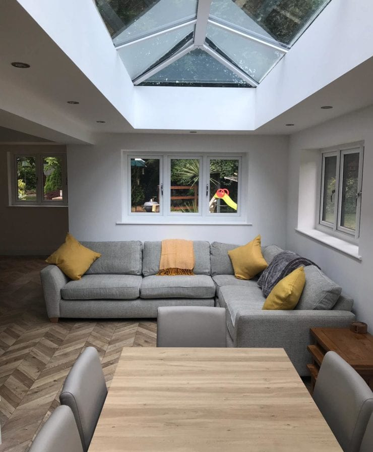 Living and dining room extension in Liverpool