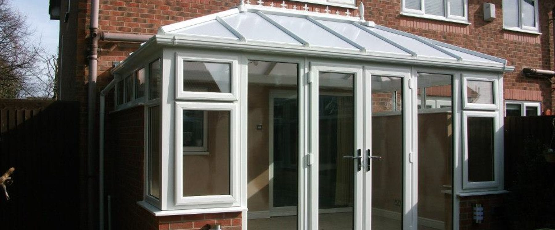 Single storey orangery home extension