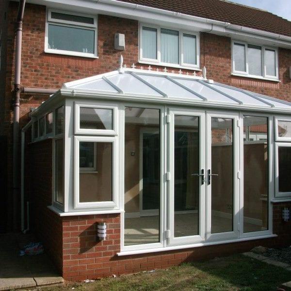Single storey orangery home extension