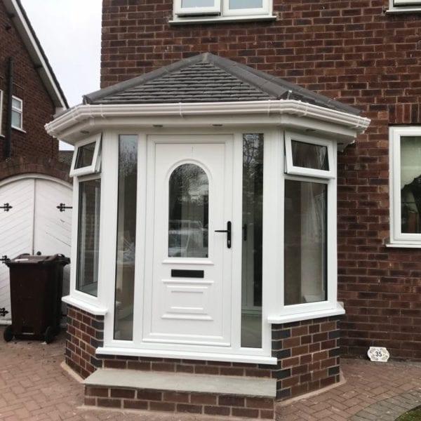 Hexagonal Double-Glazed Porch in Liverpool