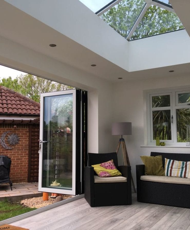 Aluminium bifold doors in Liverpool