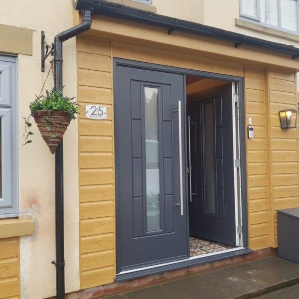 Composite door installation in Liverpool